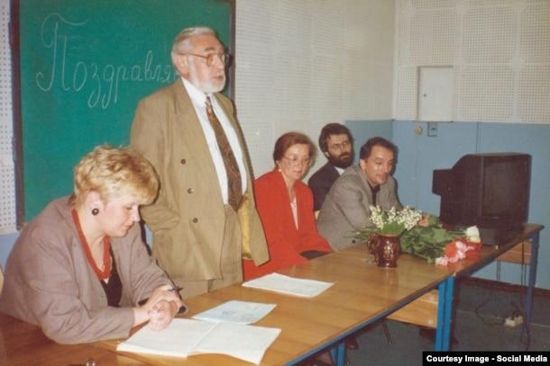 Сергей Черкасов, Владимир Медведев и Лев Щеглов. Восточно-Европейский институт психоанализа