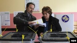 Pamje nga zgjedhjet lokale 2013