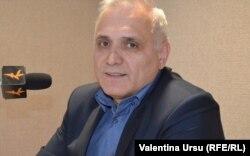 Primarul Alexei Busuioc în studioul Europei Libere la Chișinău