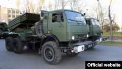 Російська військова техніка в Криму, архівне фото