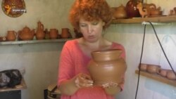 В мастерской крымскотатарского керамиста Марины Курукчи (видео)