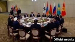 Заседание Высшего Евразийского экономического совета. 11 октября 2017 года.