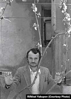 Мустафа Джемилев, 1990 год. Фото Рифхата Якупова