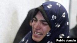 راحله زمانی مادر دو کودک خردسال که روز چهارشنبه به دار آویخته شد