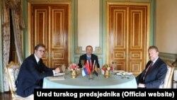 Jedna od tema razgovora bila je trasa brze ceste Sarajevo –Beograd