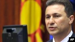 Продолжуваме понатаму со дела, со срце за Македонија, рече во обраќањето премиерот Груевски