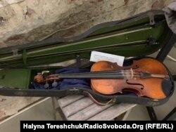 Скрипка дисидента Петра Войтюка, яка була з ним у таборах