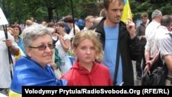Акції протесту проти «мовного закону» проходять в містах України