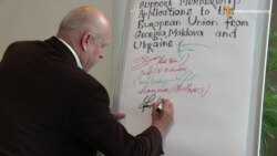 Акція в Ризі: Україна подала «заявку» на вступ до ЄС