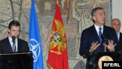 Anders Fogh Rasmussen i Milo Đukanović, ilustrativna fotografija