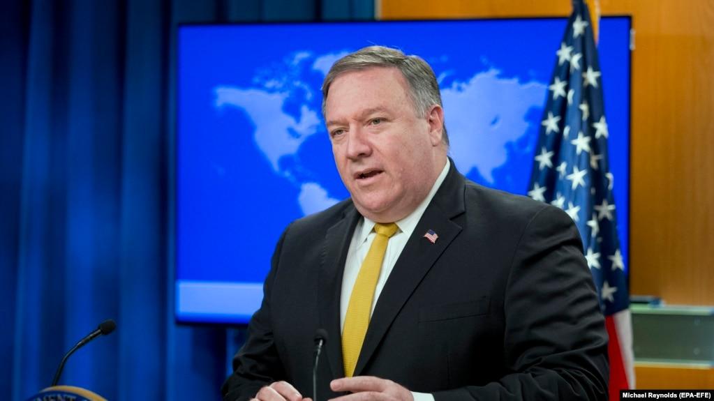 آقای پومپئو میگوید: «همانطور که چندین بار هشدار دادهایم، آزمایش و اشاعه موشکی ایران در حال افزایش است».