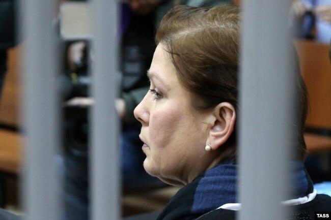 Наталья Шарина в суде, ноябрь 2016 года