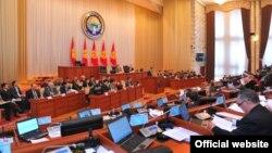 Иллюстративное фото. Заседание в парламенте Кыргызстана.