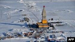Газовая вышка на Ямале