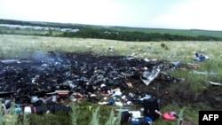 Уламки «Боїнга-777» розлетілися на 5 кілометрів, Донеччина, 17 липня 2014