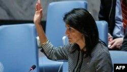 به گفته نیکی هیلی، نماینده آمریکا در سازمان ملل، «هیچ یک از اعضای شورا نمیخواهد کره شمالی به آزمایش یا پرتاب موشک جدید دست بزند».