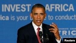Президент США Барак Обама. Танзания, 1 июля 2013 года.