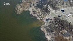 Палешукі ўласнымі сіламі наводзяць парадак на возеры, якое хоча забраць Нацыянальны парк