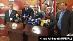 المجموعة التركمانية في مجلس محافظة كركوك في مؤتمر صحفي