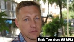 Андрей Коркин, полковник запаса КНБ. Алматы, 12 июня 2015 года.