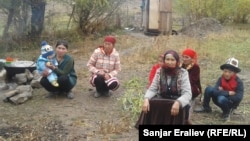 Жители Чон-Алайского районе. 7 октября