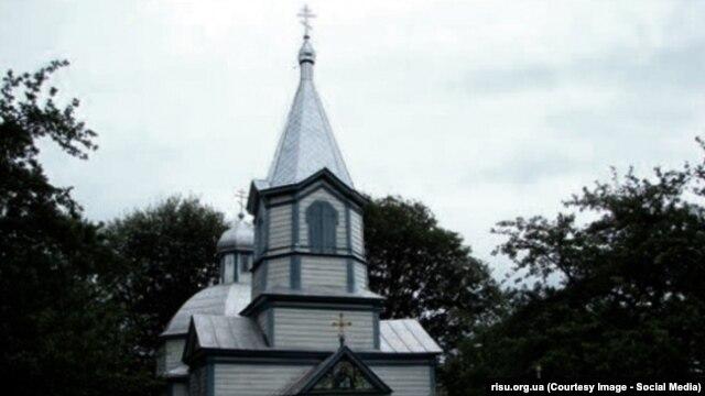 Церковь в деревне Лишня Тернопольской области, которая по желанию верующих перешла под юрисдикцию Киевского патриархата