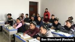 Фото из центра перевоспитания мусульман в КНР