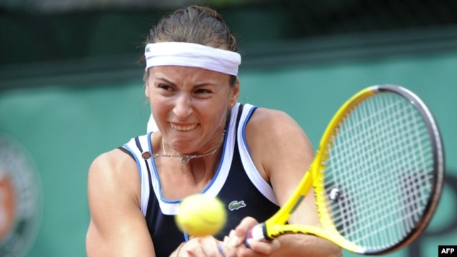 Yaroslava Shvedova is one of several Russian tennis players who now represent Kazakhstan.