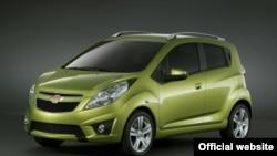 GM Uzbekistan қўшма корхонасининг янги русумдаги Spark автомобили.