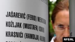 Монумент с именами погибших детей
