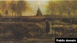 """Картина Ван Гога """"Весенний сад"""""""