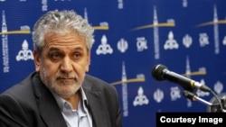 عباس کاظمی، معاون وزیر نفت ایران. (عکس از شانا)