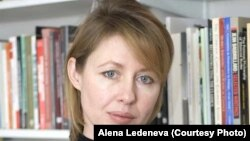 Russian political scientist and author Alena Ledeneva