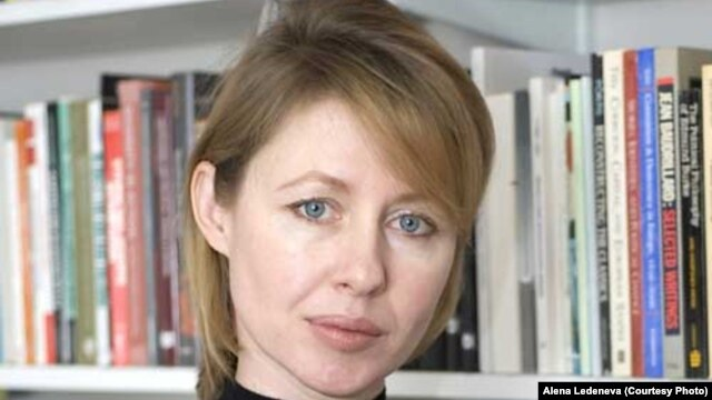 Russian political scientist and author Alena Ledeneva