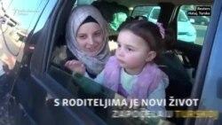 Novi život u Turskoj za djevojčicu koja se smijala bombama