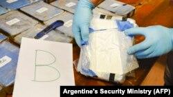 Фото, оприлюднене Міністерством з питань безпеки Аргентини 22 лютого 2018 року після оголошення результатів операції
