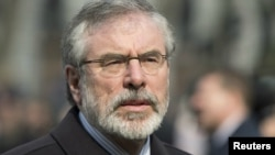 Sinn Fein təşkilatının lideri Gerry Adams