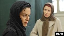 صحنه ای از فیلم جدایی نادر از سیمین