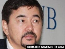 """Маргулан Сейсембаев, бывший председатель совета директоров """"Альянс Банка"""". Алматы, ноябрь 2010 года."""