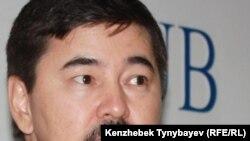 Марғұлан Сейсембаев, «Альянс Банк» АҚ директорлар кеңесінің бұрынғы төрағасы. Алматы, 11 қараша 2010 жыл.