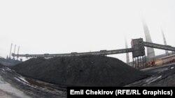 Бишкектеги жылуулук борбору. 24-октябрь 2014-жыл.