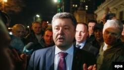 Депутат Верховной Рады Петр Порошенко, 27 марта 2014 года