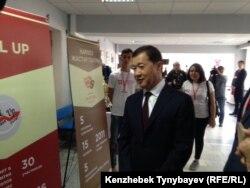 Бизнесмен Булат Утемуратов, бывший управляющий делами президента Казахстана. Алматы, 8 апреля 2016 года.