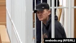 Hyanadz Yakavitski before being sentenced to death in April 2016