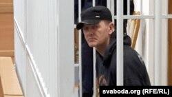 Hyanadz Yakavitski before being sentenced to death in April 2016