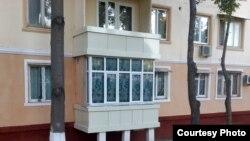 Многоэтажный дом в Ташкенте.