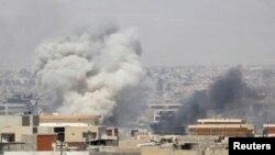 Mosul u nedjelju 25. juna 2017.