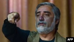 Presidential candidate Abdullah Abdullah's campaign has accused his opponent of foul play.