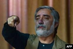 Кандидат в президенты Афганистана Абдулла Абдулла. Кабул, 23 июня 2014 года.