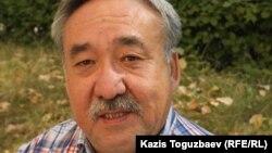 Габдрашит Нурманов, адвокат бывшего сотрудника департамента КНБ по Мангистауской области Рената Бердалиева. Алматы, 18 сентября 2013 года.